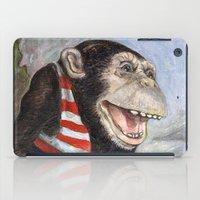 monty python iPad Cases featuring Monty by hazael anaya