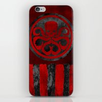 hydra iPhone & iPod Skins featuring Captain Hydra by Some_Designs