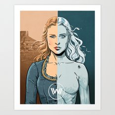 WEST 1 Art Print
