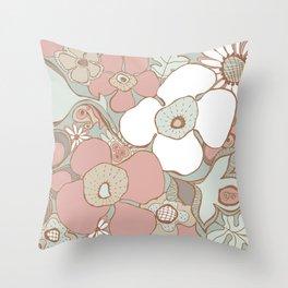 Doodle 5 Throw Pillow