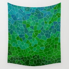 Mosaic Forest Wall Tapestry