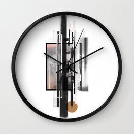 """Ramikin Three"" Graphic Art Print Wall Clock"