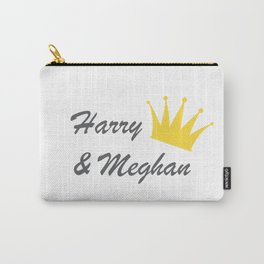 Harry and Meghan Carry-All Pouch
