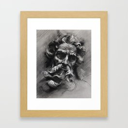 Poseidon Framed Art Print