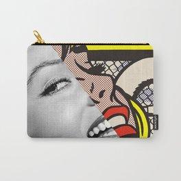 """Roy Lichtenstein's """"Sailboat Girl"""" & M.M. Carry-All Pouch"""