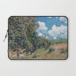 Alfred Sisley The Road from Versailles to Saint-Germain Laptop Sleeve