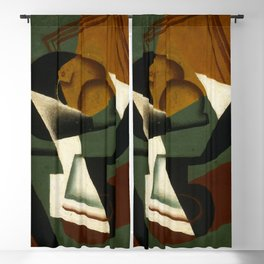 "Juan Gris ""Dish of Fruit"" Blackout Curtain"