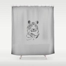 Always blend in Shower Curtain
