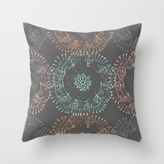 Flirty Doilies Throw Pillow