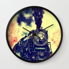 Express Train Wall Clock