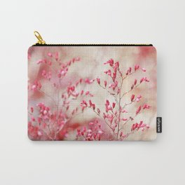 Red tiny flowers Carry-All Pouch