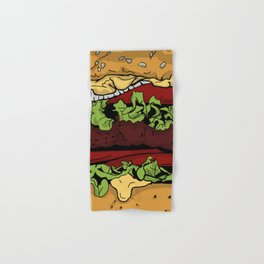 Cheeseburger Hand & Bath Towel