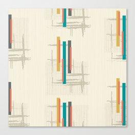 "Mid Century Modern ""Bar"" Canvas Print"