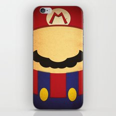 Minimal Player 1 iPhone & iPod Skin