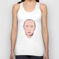 putin Tank Tops featuring Putin by Ricardo Miranda Zuniga