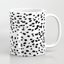 Dalmat-b&w-Animal print I Coffee Mug