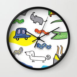 Animals n stuff Wall Clock