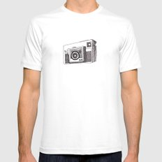 Instamatic X35 MEDIUM Mens Fitted Tee White