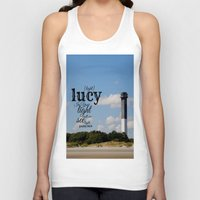 lucy Tank Tops featuring Lucy by KimberosePhotography