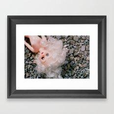 Down in the Gravel II Framed Art Print