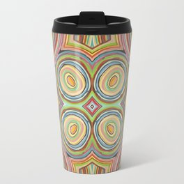colorful circles Travel Mug