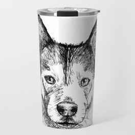 Husky is Your Friend Travel Mug