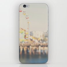 santa monica pier ...  iPhone & iPod Skin