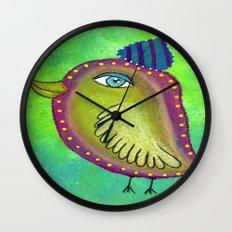 Quirky Bird 4 Wall Clock