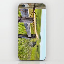 Looking Back iPhone Skin
