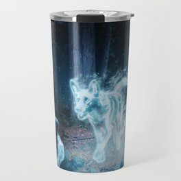 Expecto Patronum by The Labs & Co. Travel Mug