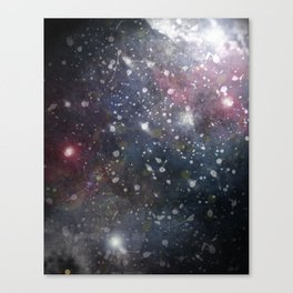 Splattered Stars Canvas Print