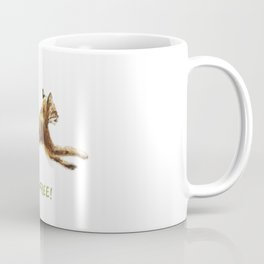 Noel Bobcat - Run Free Coffee Mug