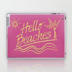 Hello Beaches Laptop & iPad Skin