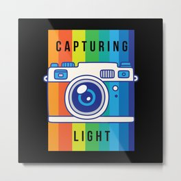 Capturing Light Photography Photographer Photo Metal Print