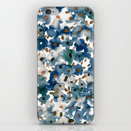 Georgia Floral Blue iPhone Skin