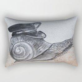 Snails Pace Rectangular Pillow
