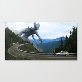 ...To Parts Unknown Canvas Print