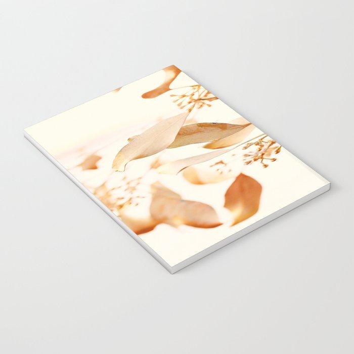 Golden Leaves Notebook