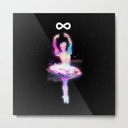 Space Dancer Metal Print
