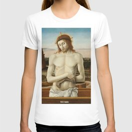 Imago Pietatis by Giovanni Bellini T-shirt