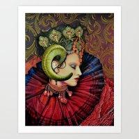 Potnia Theron /Artemis Art Print