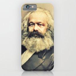 Karl Marx, Literary Legend iPhone Case