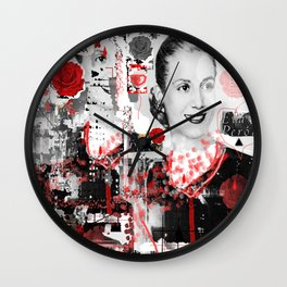 Don't cry for me Argentina  Wall Clock