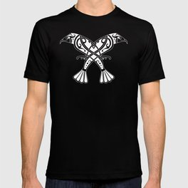 Huginn and Muninn- Two Ravens T-shirt