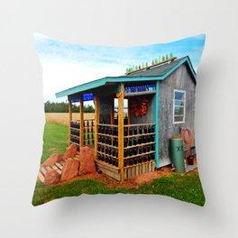 Gar's Tavern Throw Pillow