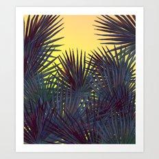 Warm In the Jungle Art Print