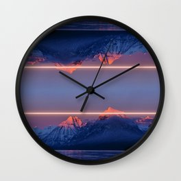 Laserscape Wall Clock