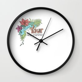 The Limit Does Not Exist Wall Clock