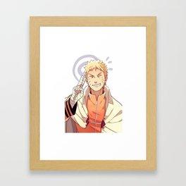 Fan Arte Naruto Uzumaki Framed Art Print