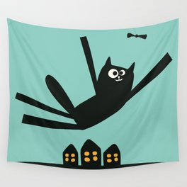 Oscar The Cat  Wall Tapestry